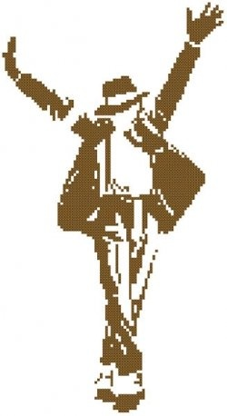 Michael Jackson - Free Cross Stitch Patterns