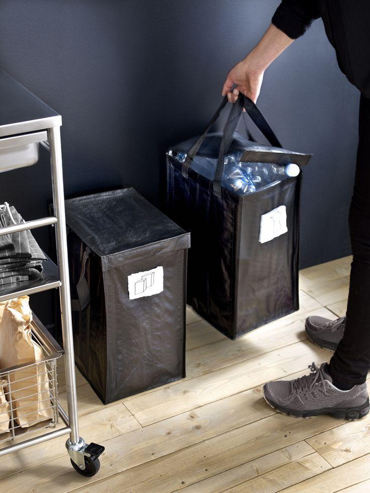 DIMPA tas voor afvalscheiden | #IKEAcatalogus #nieuw #2017 #IKEA #IKEAnl…