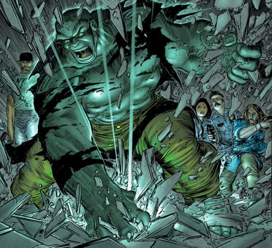 The Incredible Hulk art by John Romita Jr.