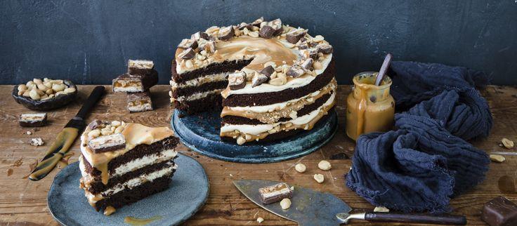 Snickers Kakku