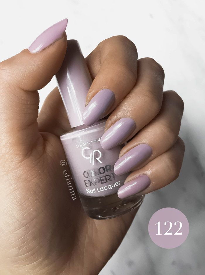 Golden Rose | Color Expert Nail Lacquer | Lakier do paznokci | numer 122 przygaszony fiolet