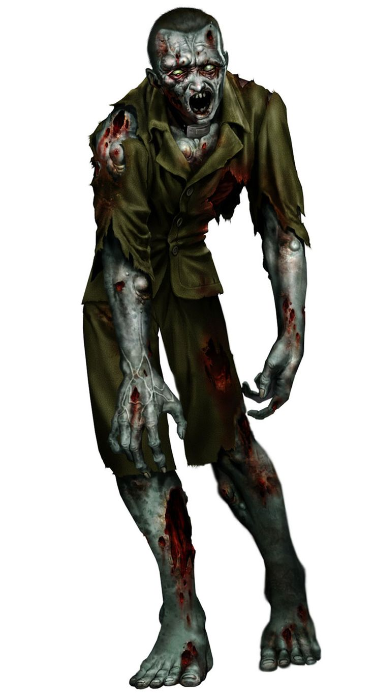 Zombie from Resident Evil: Code Veronica