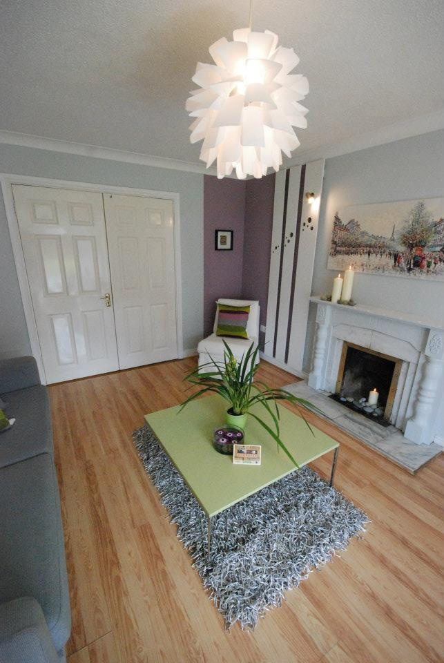 The redesigned living room #DIY #Interiordecor #Interiors