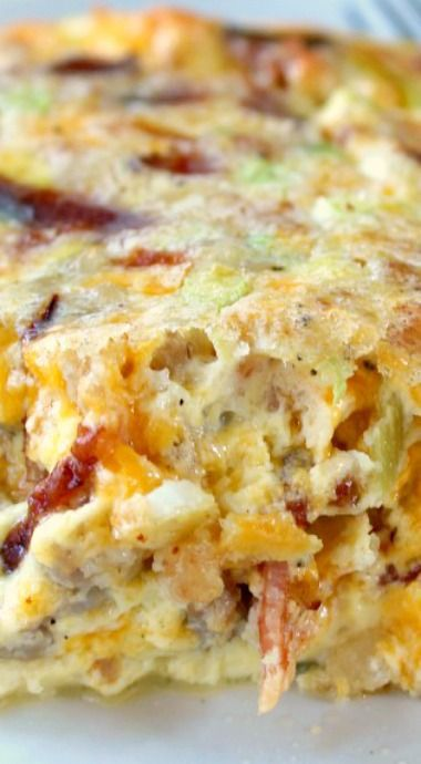 SOUTHWEST EGG BAKE
