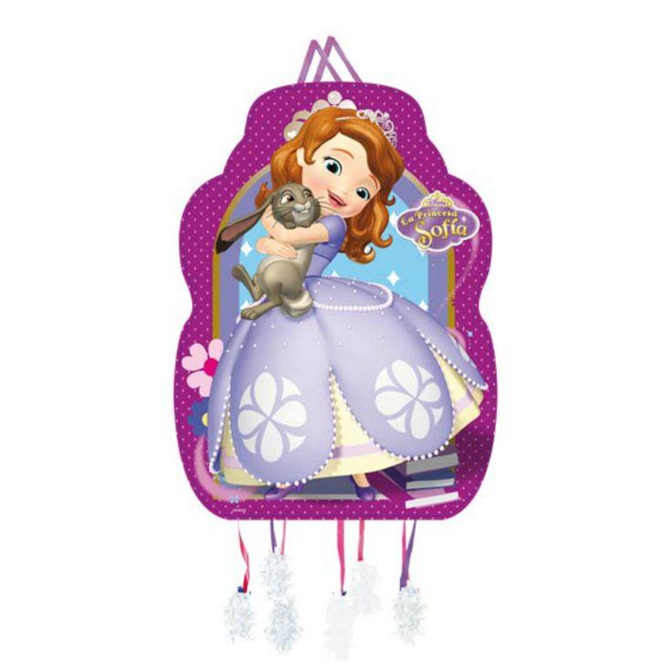 Piñata Perfil Princesa Sofía #fiestacumpleaños #cumpleañosdisney #decoracioncumpleaños