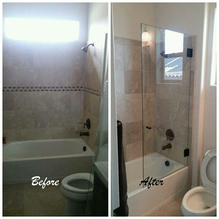 20 best Before and After Shower Installs images on Pinterest ...