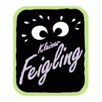 Kleiner Feigling Logo. Get this logo in Vector format from http://logovectors.net/kleiner-feigling-1/
