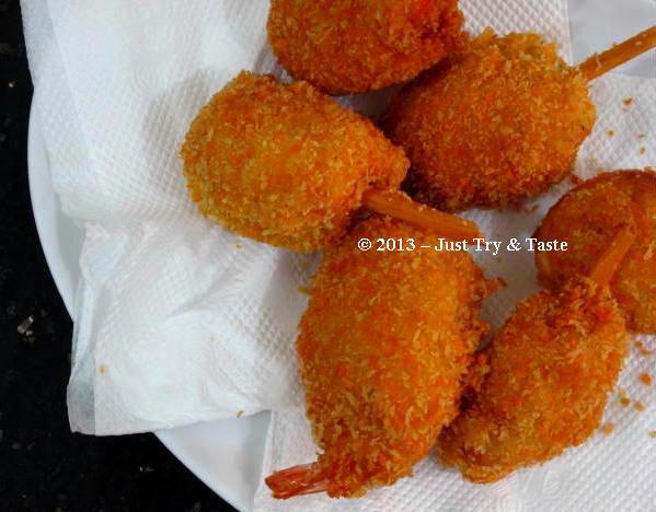 Kaki Naga Udang - Shrimp & Chicken Drumstick |pengenn hihi