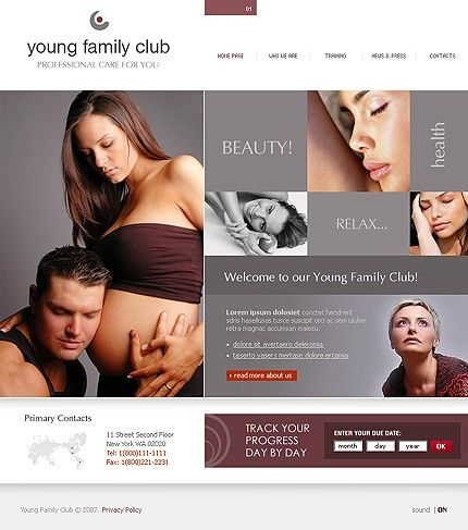 Yuung Family Flash Templates by Delta