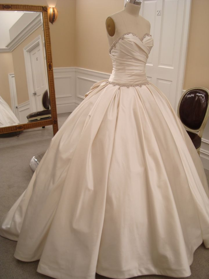 This is literally THE dress  Pnina Tornai - Sweetheart ball gown in silk satin.  Style # 32727570 Price: $5000.00 - $8000.00