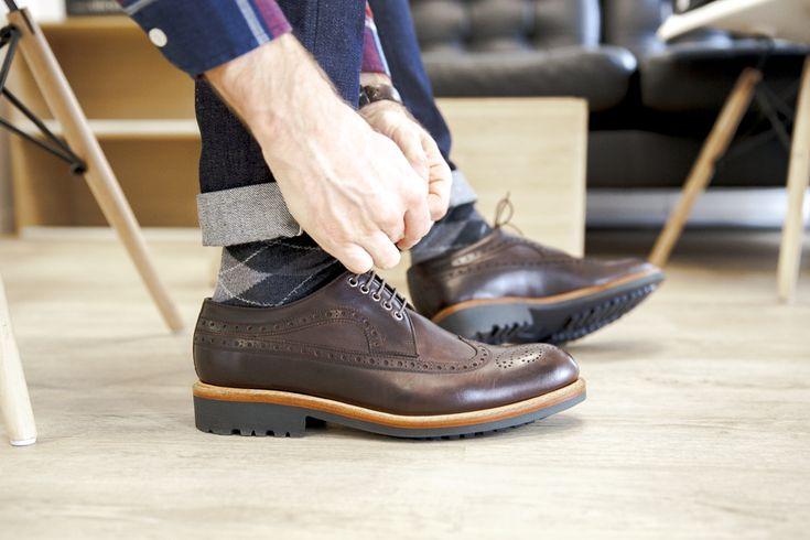 Derbies Hardrige #shoes #menshoes #derby #hardrige