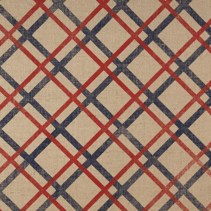 6609-Crimson and Navy on Jute by Phillip Jeffries.