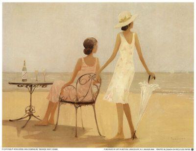 Seaside View - Miguel Dominguez Poster :: PicassoMio