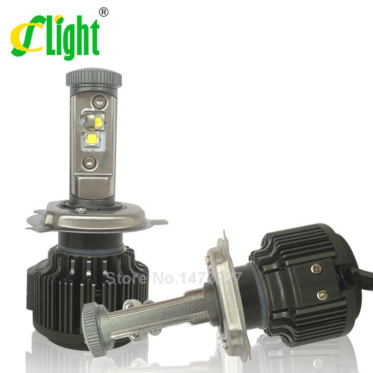 Newest H4 HB2 9003 Hi/Lo Led W/ CREE Chip High Power 40W 4000lm 3000K 6000K Strong Bright Car Headlight Fog Light Conversion Kit [Affiliate]