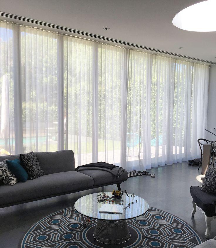 #sheer #curtains #modern #design #interiors #parkshuttersandblinds #windowfurnishings
