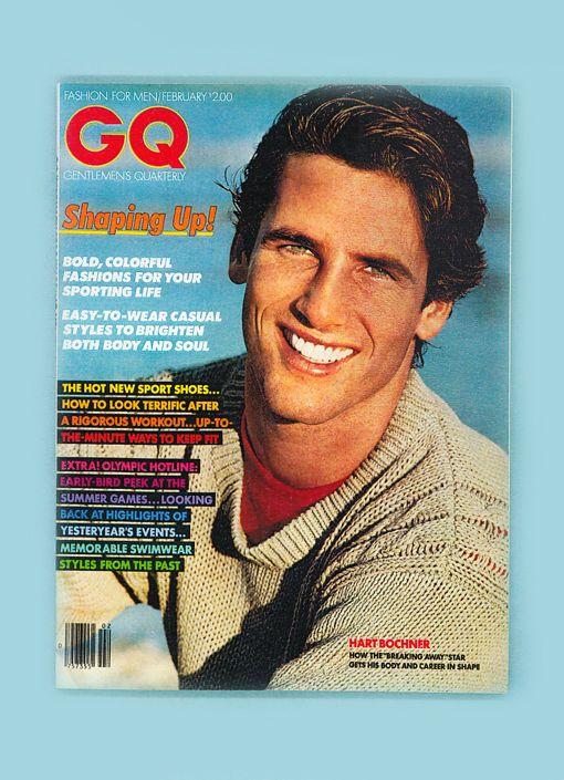 gq #magazine-hart bochner-february 1980-jeff aquilon-bruce weber-michael ives from $33.99