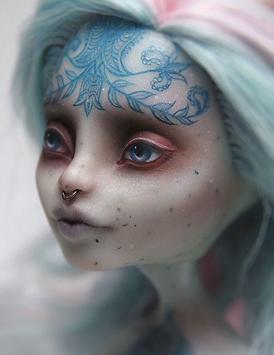 Fantasy   Whimsical   Strange   Mythical   Creative   Creatures   Dolls   Sculptures   l by ero-nel on DeviantArt