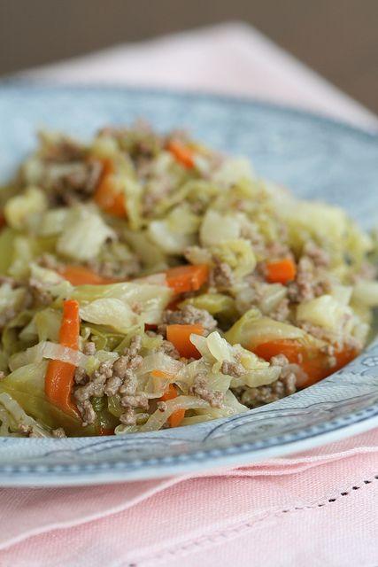 Estonian Cabbage and Mince Stew  (Hakkliha-kapsahautis)