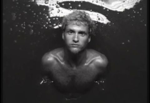"Layne Staley from ""Sea of sorrow"" videoclip"
