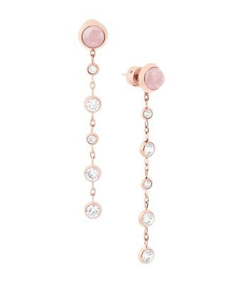 MICHAEL KORS Quartz Drop Earrings. #michaelkors #earrings