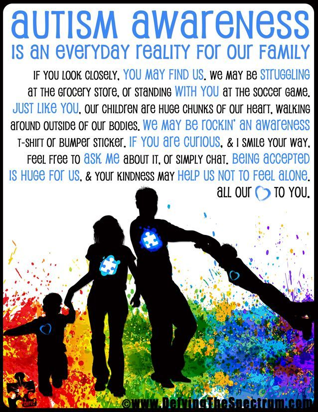 Why I Will Light It Up Blue - Autism awareness is an everyday reality for our family. On April 2 we are excited to spread awareness out for World Autism Awareness Day. Find out why this first step is so important to us, here!