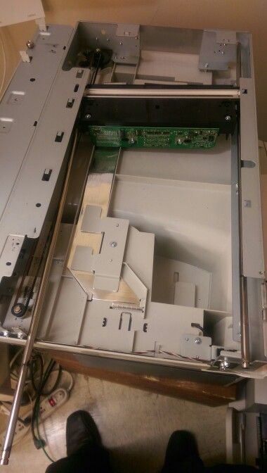 Replacing the scanner controller board on the Lexmark X642e #Lexmark #viprinters