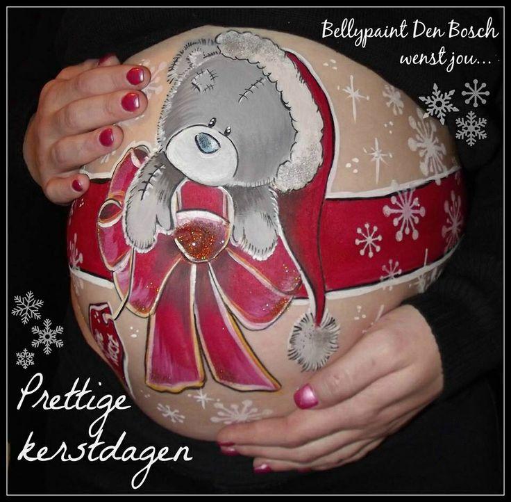 Bellypaint ( buik beschildering ) met mini cupcakes of in combinatie met andere producten op onze website. www.babyshowerfriesland.nl
