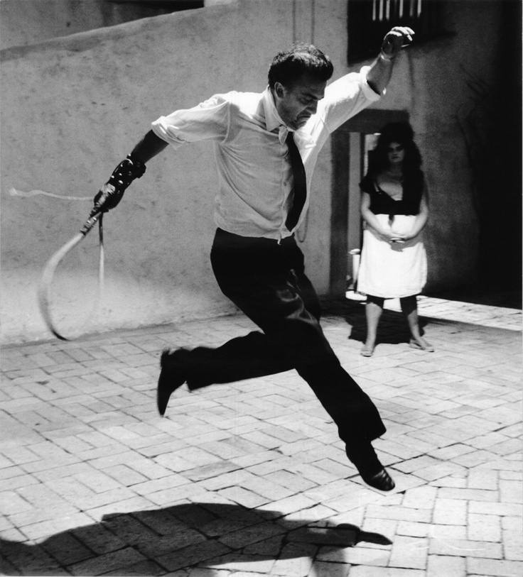 Federico Fellini - Tazio Secchiaroli   Sul set di 8 e mezzo
