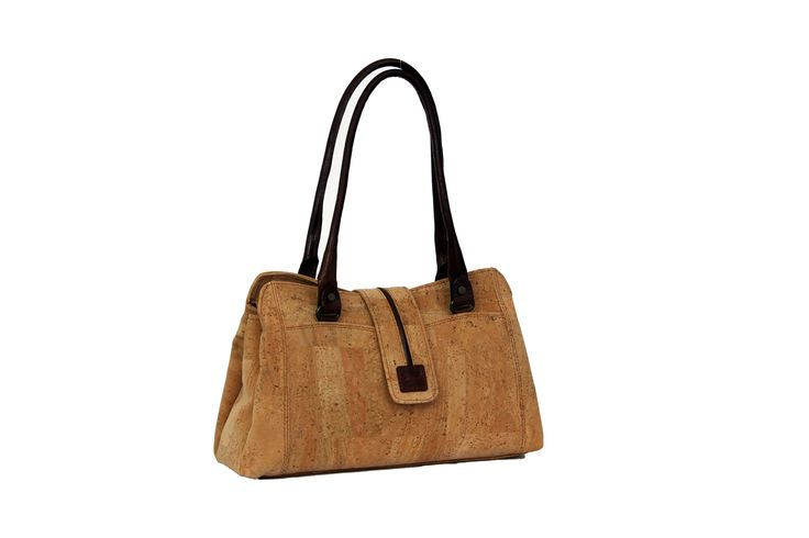 Handbag Lauren Trendy cork handbag with 3 compartments, very espacious.
