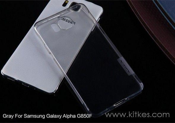Nillkin Nature TPU 0.6mm Soft Case Samsung Galaxy Alpha - Rp 99.000