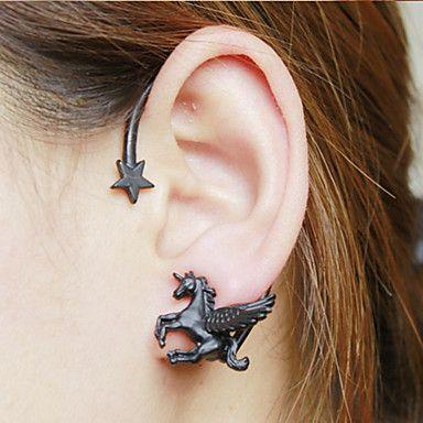 EUR € 4.99 - shixin® europese god paard vorm legering oor manchetten (meer kleuren) (1 paar), Gratis Verzending voor alle Gadgets!
