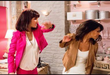 Leyla attacks Priya as the affair is exposed in Emmerdale tonight