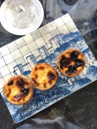 Delicious pastéis de nata await you upon check-in in your room