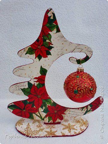 Добрый вечер,Страна! Сегодня я к Вам со своими ёлками-подвесками для новогодних шаров! Подробный мастер-класс по их изготовлению можно посмотреть здесь http://stranamasterov.ru/node/985879 Работ много,как и фотографий! фото 15