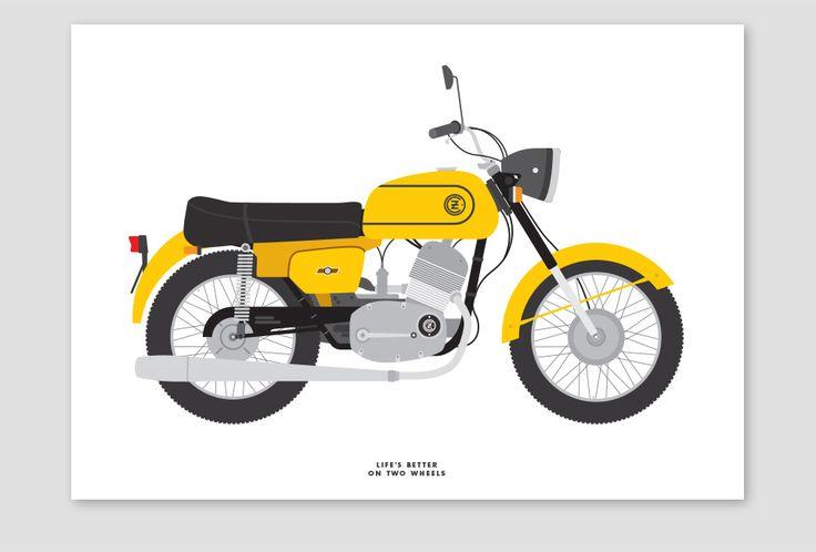 Jawa CZ 175 by Tim George