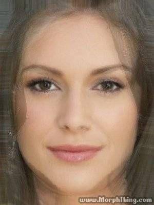 Alyssa Milano, Catherine Zeta Jones, Saira Mohan, Heidi Montag