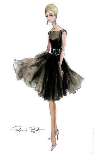 I love fashion sketches