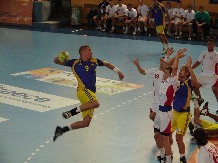 CANADA - SWEDEN 20-40 - XVIII Men's Junior World Handball Championship