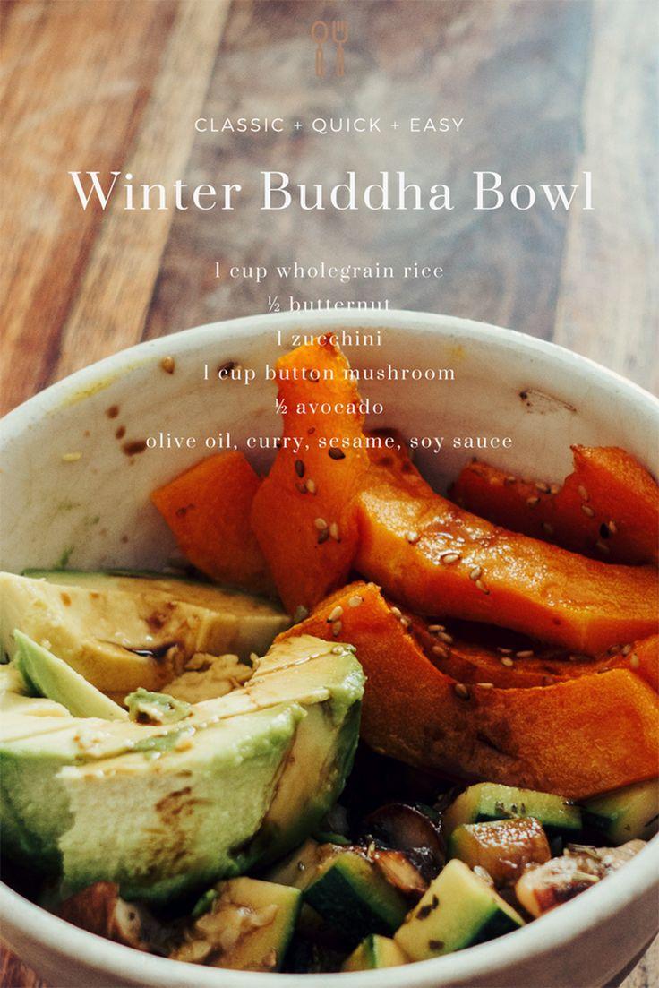 Buddha Bowl hivernal, ma recette rapide et équilibrée - Trendy Mood