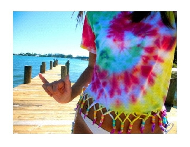 DIY shirt for summer<3