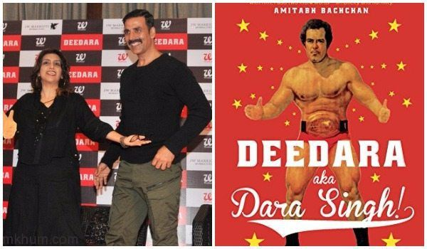 Dara Singh biography Deedara Launched by akshay Kumar his 88th birthday  http://www.uffteriada.com/dara-singh-biography-deedara-launched-akshay-kumar/