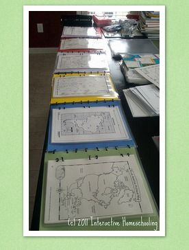 Big Geography Book-- a notebook full of maps