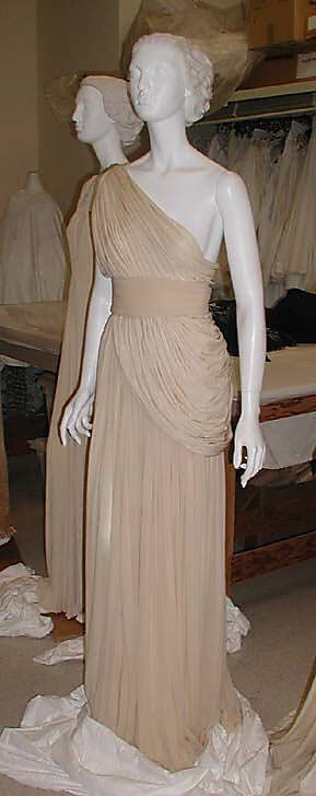 Evening ensemble Madame Grès (Alix Barton)  (French, Paris 1903–1993 Var region) Date: 1967–85 Culture: French Medium: silk
