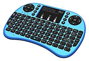 Rii i8+ BT Mini Wireless Bluetooth Backlight Touchpad Keyboard with Mouse for PC/Mac/Android, Blue (RTi8BT-3) by Zettaguard Inc. Computers: See all matching items $39.99 - $27.99