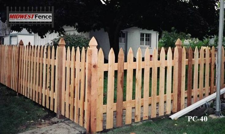 Types of wooden fences view examples of french gothic for Types of fences