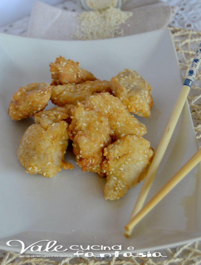 Bocconcini di pollo al sesamo ricetta sfiziosa e veloce