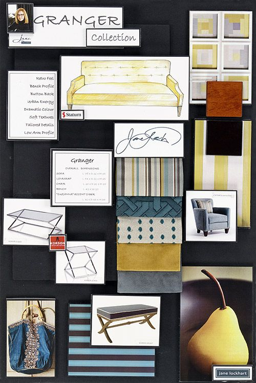 Interior Design Color Boards Jane Lockhart