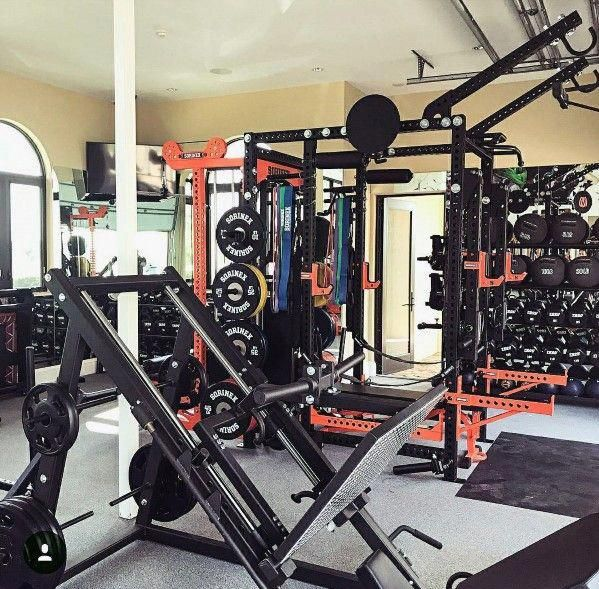 Garage gym workout equipment ideas #homegyms fitbait in 2019 at