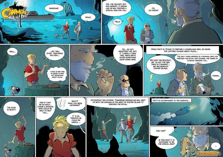 Season2 - Issue18 #canman #webcomic by #DARKDOG