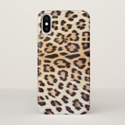 Leopard hair iPhone x case - cat cats kitten kitty pet love pussy